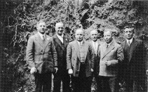 Der Vorstand der KG Lustige Eulen
